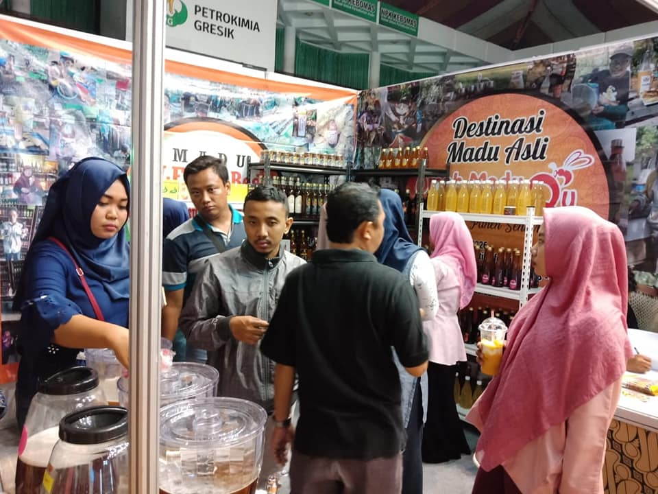 Omah Madu di Bazar Petrokimia Gresik